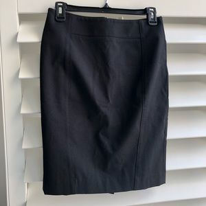 Classic pencil skirt in black by Ann Taylor